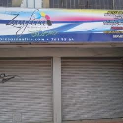 Zaafira en Bogotá