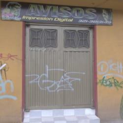 Avisos Impresión Digital Calle 43  en Bogotá