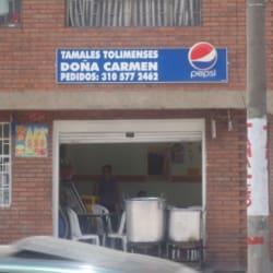 Tamales Tolimenses Doña Carmen en Bogotá