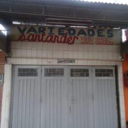 variedades Santander en Bogotá