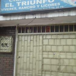 Cigarrería El Triunfo Calle 3 en Bogotá