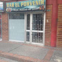 Bar El Porvenir en Bogotá