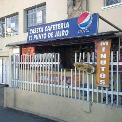Caseta Cafetería El Punto de Jairo en Bogotá