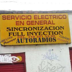 Autoradios  en Bogotá
