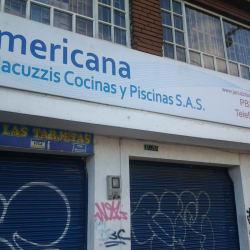 Americana de Jacuzzis Cocinas y Piscinas en Bogotá