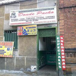 Donde Pacho en Bogotá