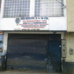 Ferre Metálicas G & Cía Ltda en Bogotá