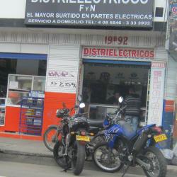 Distrieléctricos F y N en Bogotá