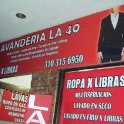 Lavandería La 40 en Bogotá