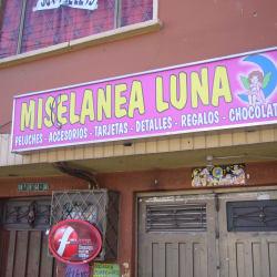 Miscelánea Luna en Bogotá