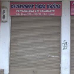 Divisiones Para Baños en Bogotá