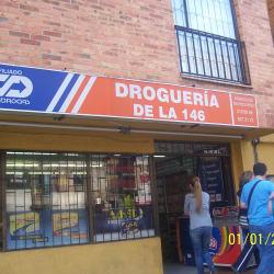 Droguería de la 146 en Bogotá