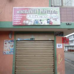 Miscelánea y Papelería Alice en Bogotá