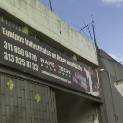 Equipos Industriales en Acero Inoxidable Safe+tech en Bogotá