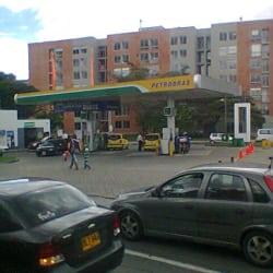 Estación de Gasolina Petrobras Avenida Suba en Bogotá