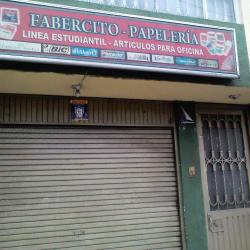 Fabercito Papelería  en Bogotá