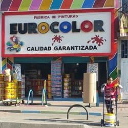 Fabrica de pinturas Eurocolor en Bogotá