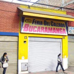 Feria del Calzado de Bucaramanga en Bogotá