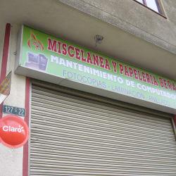 Miscelánea y Papelería Beraka en Bogotá
