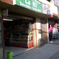 Panadería y Cafetería La 167 en Bogotá