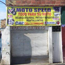 Moto Speed Calle 132 en Bogotá