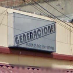 Generaciones en Bogotá