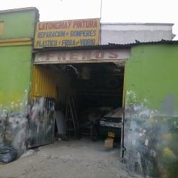 Latoneria y Pintura  Calle 64 en Bogotá