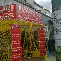 Ferrepinturas y Electricos AB en Bogotá