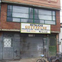 Metálicas Goyeneche en Bogotá