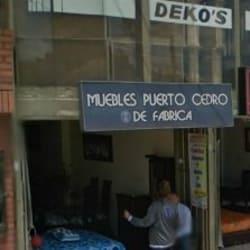 Muebles Puerto Cedro en Bogotá