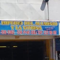 El Imperio Del Aluminio y La Vitrina en Bogotá