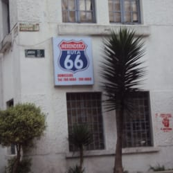 Merendero Ruta 66 en Bogotá