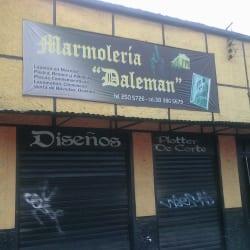 Marmolería Daleman en Bogotá