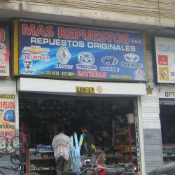 Mas Repuestos S.A.S en Bogotá