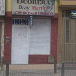 Licorera Dray Martini en Bogotá