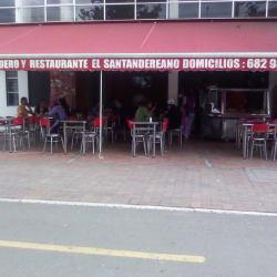 Piqueteadero y Restaurante El Santandereano en Bogotá