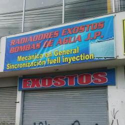 Radiadores Exostos J.P. en Bogotá