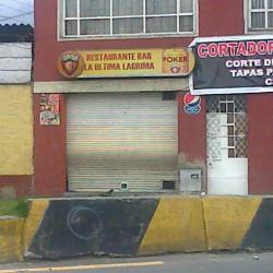 Restaurante Bar La Última Lágrima en Bogotá