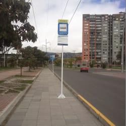 Parada SITP - San José v sector - 292A02 en Bogotá