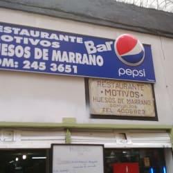 Restaurante Bar Motivos Huesos de Marrano en Bogotá