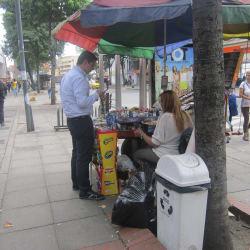 Carrito de Dulces Carrera 15 en Bogotá