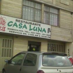 Restaurante Casa Luna en Bogotá