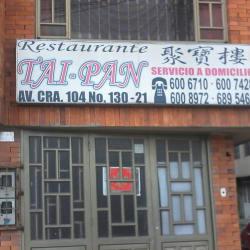 Restaurante Tai Pan en Bogotá