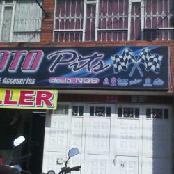 Moto Pist de la NQS en Bogotá