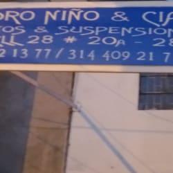 Pedro Niño y Cía Frenos y Suspensión en Bogotá