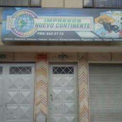 Impresos Nuevo Continente en Bogotá