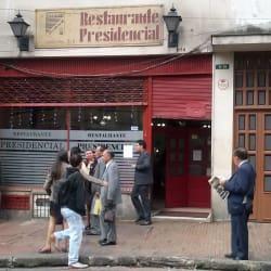 Restaurante Presidencial en Bogotá