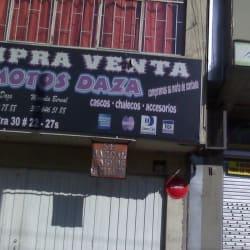 Motos daza en Bogotá