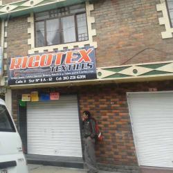Rigotex Textiles en Bogotá
