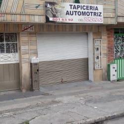 Tapicerías Automotriz  en Bogotá